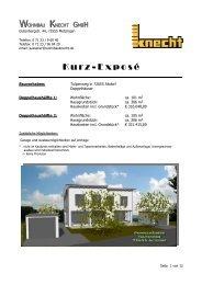 Kurz-Exposé - Wohnbau Knecht GmbH