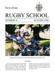 Autumn 99 | PDF (710KB) - Rugby School