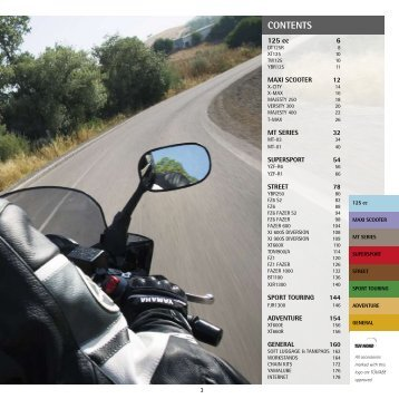 CONTENTS - Yamaha Motor Europe