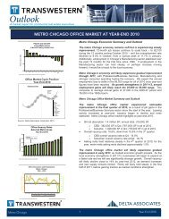 Year End 2010 Chicago Office Outlook.indd - Transwestern