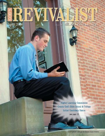 Download the April Issue - God's Bible School & College