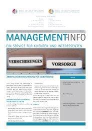 Management-Info Nr. 23
