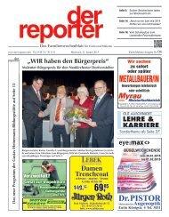 der reporter - Das Familienwochenblatt für Eutin und Malente 2015 KW 04