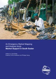 EMMA Sudan Case Study.pdf - Food Security Clusters