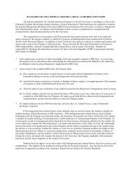 Background Information Disclosure form - Carroll University