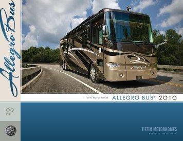 allegro bus® 2o1o - RVUSA.com