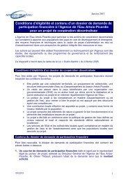 Contenu demande d'aide - Agence de l'eau Artois Picardie
