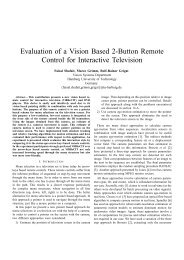 Evaluation of a Vision Based 2-Button Remote Control for Interactive ...