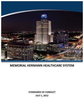 MEMORIAL HERMANN HEALTHCARE SYSTEM