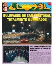bulevares de san cristobal totalmente iluminados - ElsoldeMixco.com