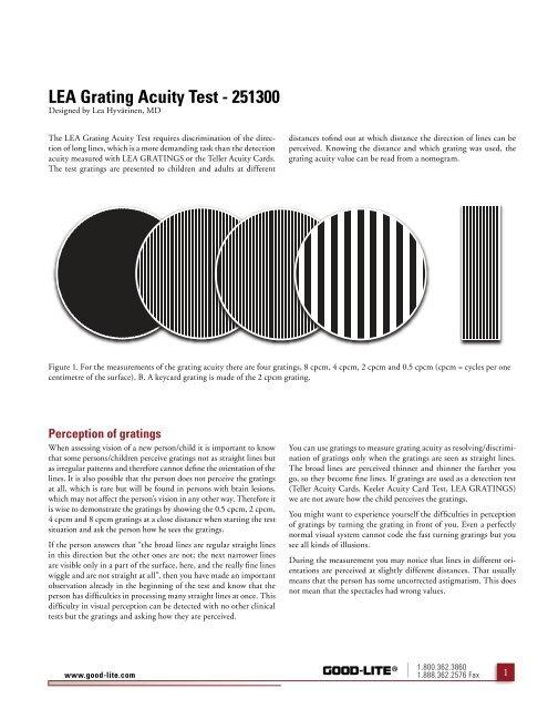 4dc3cec3233 LEA Grating Acuity Test - 251300 - Good-Lite Company