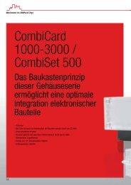 CombiCard 1000-3000 / CombiSet 500 - Bopla