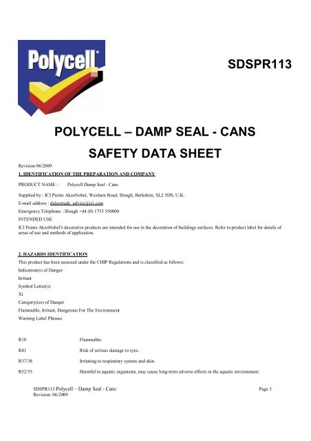 Sdspr113 Polycell Damp Seal 2 Wickes