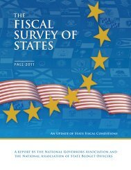 FISCAL SURVEY OF STATES - Navigator