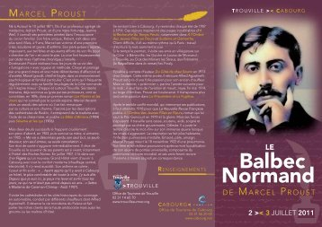 Balbec Normand - Proust Ink