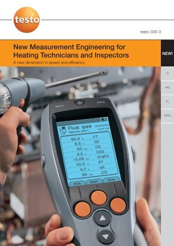 New Measurement Engineering for Heating Technicians and ...