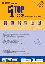 ÖPNV-Innovationspreis 2006 - newstix