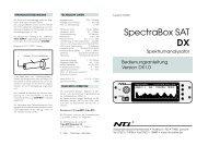 Bedienungsanleitung DX1.0 (2 Seiten) - Rudolf Ille Nachrichtentechnik