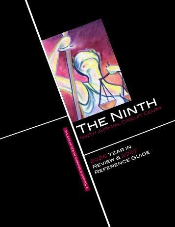2006 Annual Report - Ninth Judicial Circuit Court of Florida