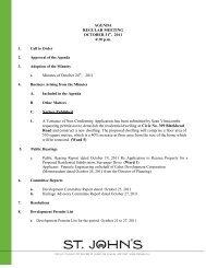 Council Agenda Monday, October 31, 2011