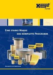 Eine starke Marke das komplette Programm - Hengst GmbH & Co. KG