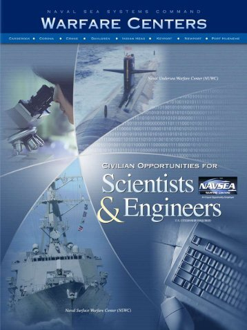 to download Naval Sea Systems Command Warfare Centers brochure.