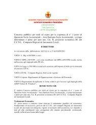 Bando di concorso OSS DEFINITIVO - Comune Albenga