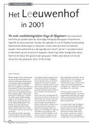 jg1_nr2_Het Leeuwenhof in 2001.pdf - Natuurpunt Gent