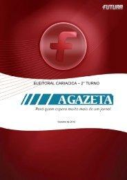 Pesquisa Eleições 2º turno CARIACICA - FuturaNet