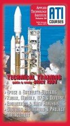 ATI Space, Satellite & Aerospace Engineering Technical Training ...