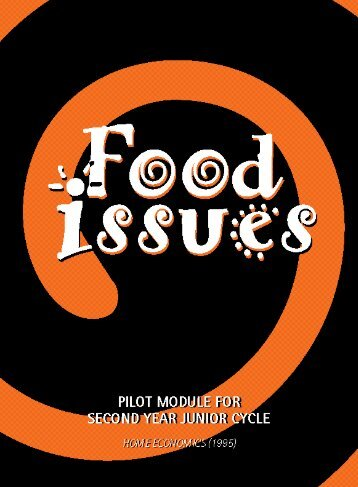 Food Issues (1996) - Combat Poverty Agency