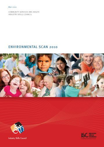 environmental scan 2010 - Community Services & Health Industry ...