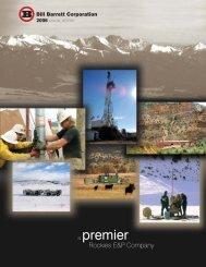 printmgr file - Bill Barrett Corporation