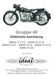 BMW Motorrad Ersatzteilliste