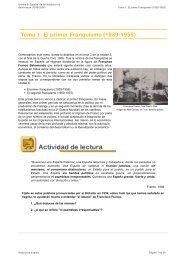 Tema 1: El primer Franquismo (1939-1959) - aulAragon