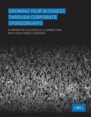 IMG Sponsorship White Paper