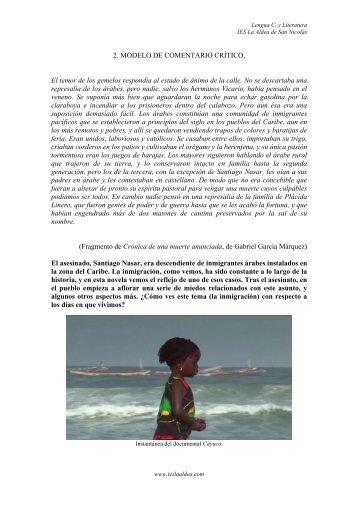 modelo de comentario critico 2. katia suarez - IES La Aldea