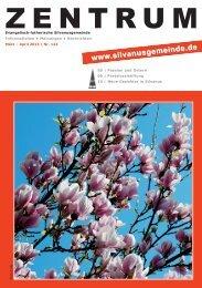 Ausgabe: 122; März-April 2013 - silvanusgemeinde.de