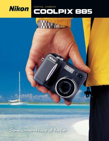 Coolpix 885 Specifications - WinBook