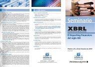 Descargar la agenda - XBRL España