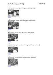 Era 4 (Part 3, pages 43-67) 1936-1940