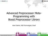 Advanced Preprocessor Meta- Programming with Boost ...