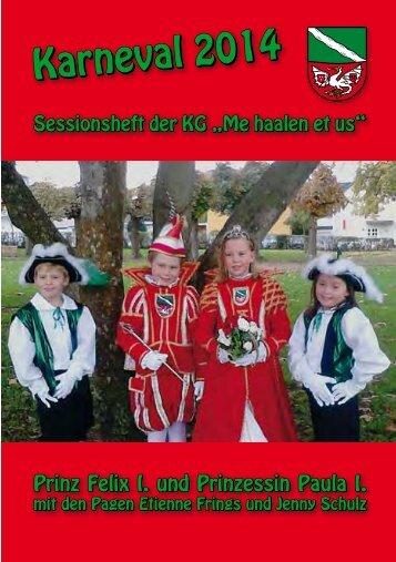 Karneval 2014 - Karnevalsgesellschaft ME HAALEN ET US ...