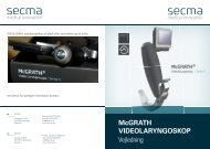 McGRATH Series 5 manual (.pdf) - Secma