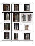 ENGLISH LIDDED TANKARDS AND FLAGONS - PewterBank - Page 2