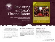 Revisiting the Naga's Throne Room - Wizards of the Coast