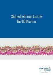 Sicherheitsmerkmale Broschüre - Plasticard-ZFT GmbH