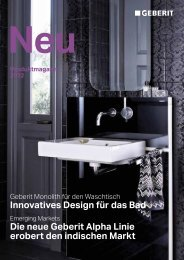 Produktmagazin 2012 - Geberit