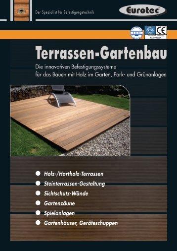 Verarbeitungshinweise Terrasse Terrassengleiter - E.u.r.o. Tec GmbH