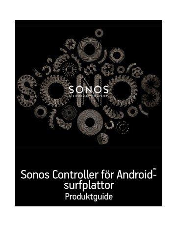 Sonos Controller för Android-surfplattor - Almando
